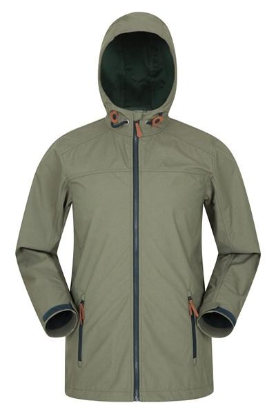 Iona Mens Softshell Jacket - Green