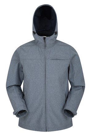 Reach Textured Mens Softshell