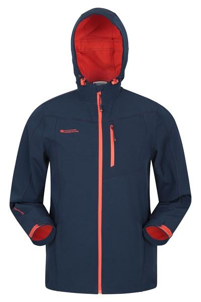 Scope Mens Softshell Jacket - Navy