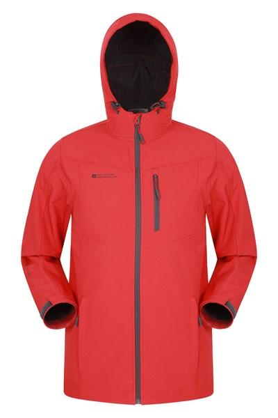 Scope Mens Softshell Jacket - Red