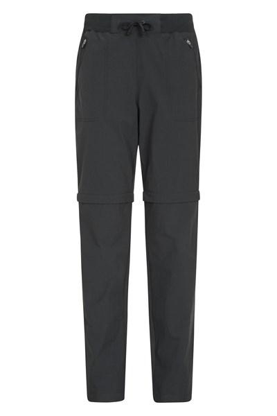 Explorer Womens Zip Off Trousers - Black