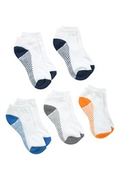 Active Kids Trainer Socks - 5 Pack
