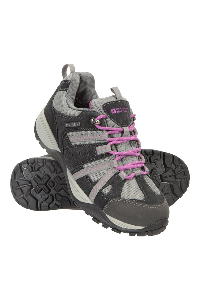 Direction Ii Womens Wide-fit Waterproof Shoes - Grey