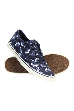 Printed Cotton Womens Trainers