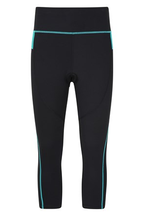 Speed Up Womens High-Waisted Capri Cycle Leggings