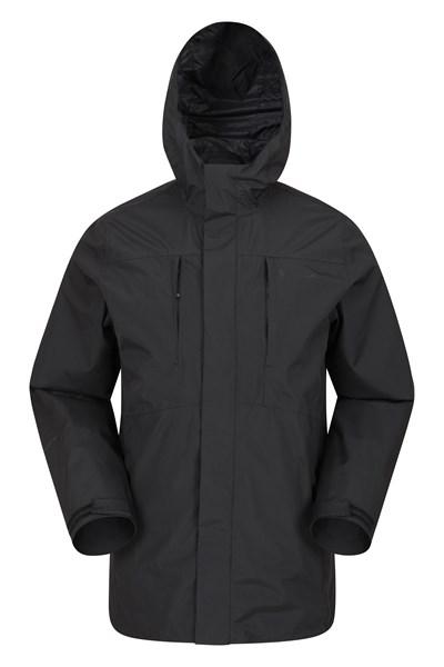 Latitude Extreme Mens Waterproof Jacket - Black