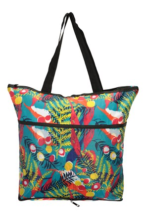 Reusable Zipped Shopper Bag
