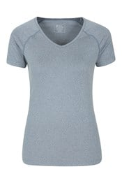 Breeze Recycled Yarn Womens V-Neck Tee