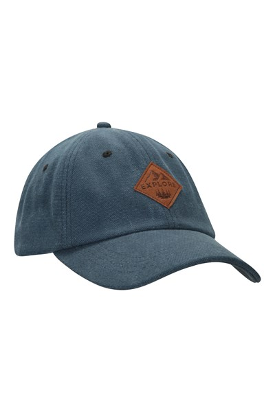 Explore Mens Baseball Cap - Blue