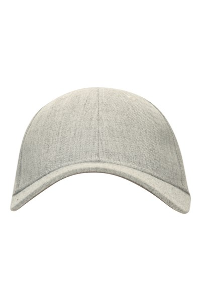 Melange Baseball Cap - Grey