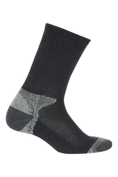 Lightweight Mens Trail Socks - Navy