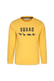 Neon Sheep Dino Squad Kids Sweater