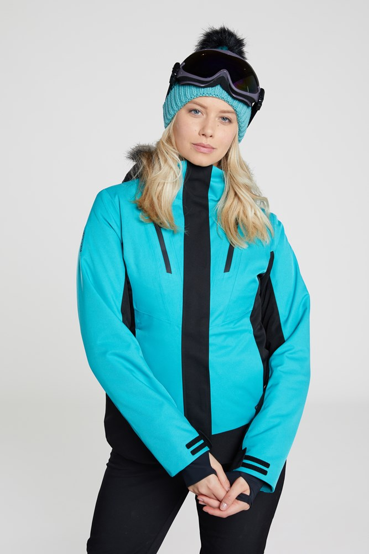 Laax Extreme - kurtka narciarska damska - Turquoise