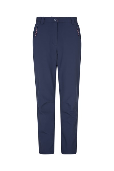 Softshell Womens Trousers - Navy