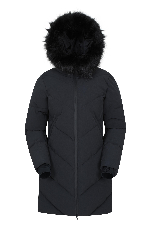 Advance - pikowana kurtka damska - Black