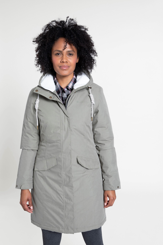 Oak Fur - pikowana kurtka damska - Green