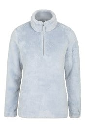 Teddy Womens Half-Zip Fleece