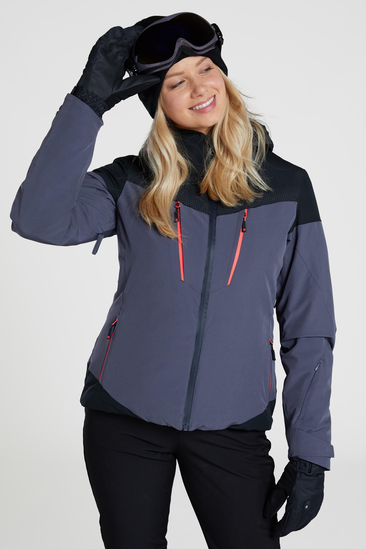 Verbier Extreme - kurtka narciarska damska - Grey