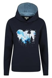 Moonlight Womens Printed Hoodie