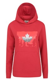 Canadian Sequin Womens Hoody