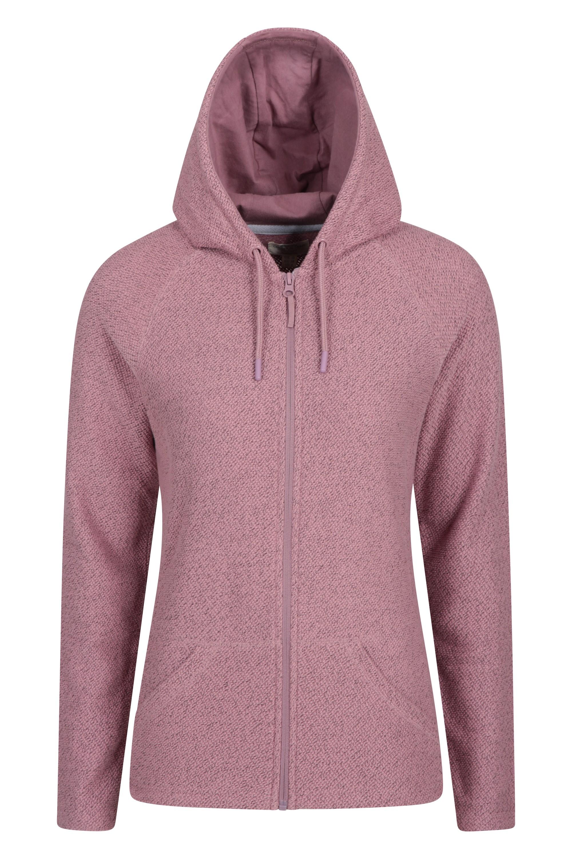 Cambridge - bluza z kapturem damska - Pink