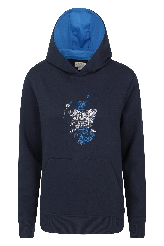 Scotland - bluza z kapturem damska - Navy