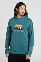 Ashford Graphic Print Mens Hoody