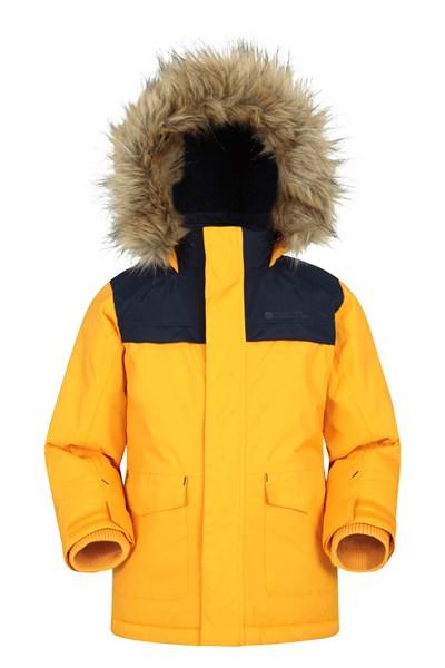 Ranger Waterproof Kids Parka Jacket - Yellow