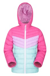 Colourblock Seasons Kids Padded Jacket