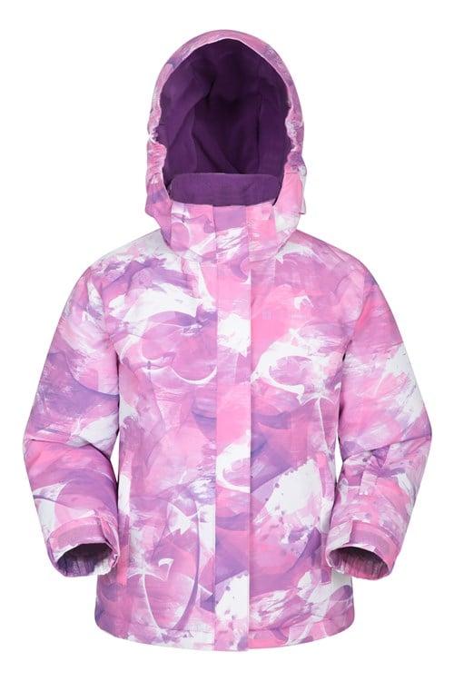 Mountain Warehouse Kid Snowdrop Printed Kids Ski Jacket