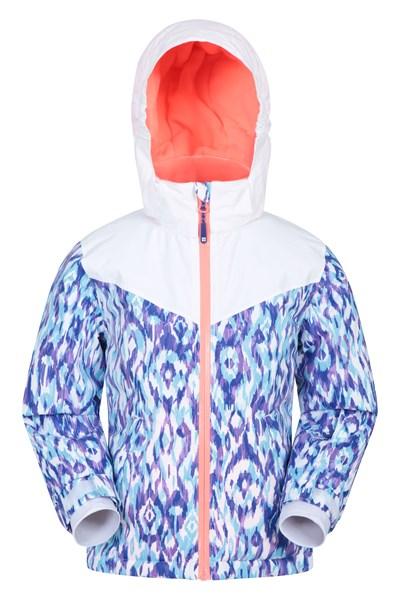 Alaskan Waterproof Kids Ski Jacket - Teal