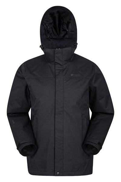 Trek Mens Waterproof Jacket - Black