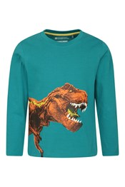 Dino Long Sleeved Kids Top