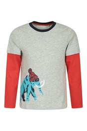 Woolly Mammoth Kids Long Sleeve Top