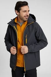 Brisk Extreme Mens 3-in-1 Waterproof Jacket