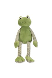 Neon Sheep Striped Frog Plush Toy