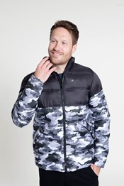 Charge Printed Mens Padded Jacket