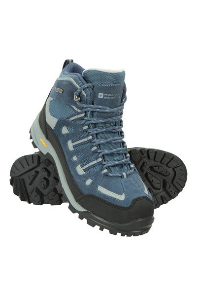 Gale Womens Waterproof IsoGrip Boots - Blue