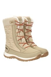 Vallees Womens Waterproof Snow Boots