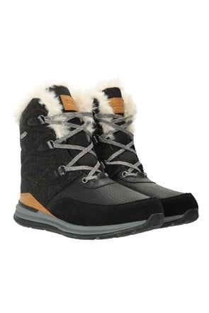 036828 ICE CRYSAL WOMENS WATERPROOF THERMAL SNOW BOOT