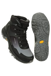 Spectrum Mens Waterproof Softshell Vibram Boots
