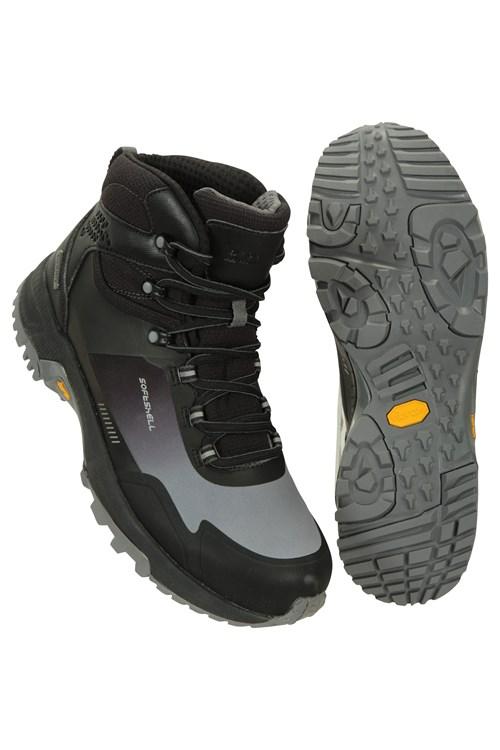 Mountain Warehouse Hommes Randonnée Imperméable Softshell Boot
