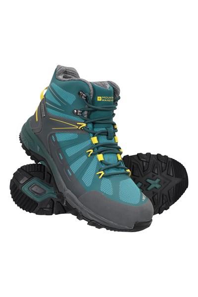 Terrain Trekker Mens Waterproof Boots - Green