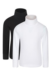 Meribel Kids Roll-Neck Top Multipack
