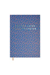 Neon Sheep Nordic Texture A5 Hardback Notebook
