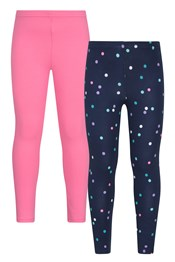Patterned Casual Kids Leggings