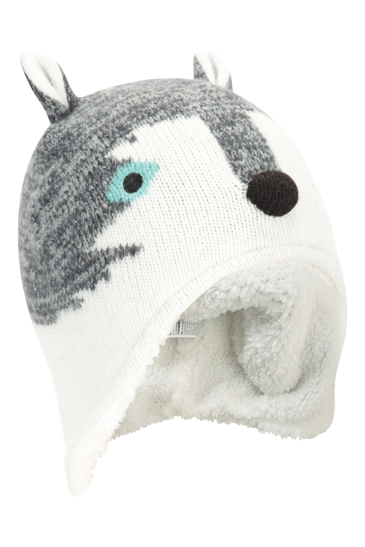 Warm Winter Kids Hat Cap Mountain Warehouse Cat Fleece Junior Hat
