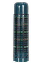 Double-Walled 500ml Flask - Tartan