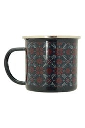 Fairisle Enamel Mug - 400ml
