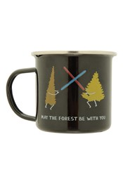Enamel Mug - May The Forest Be With You